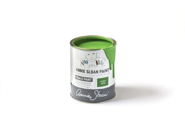 Chalk Paint von Annie Sloan in Antibes-Green lässt Ihr altes Möbelstück neu erstrahlen