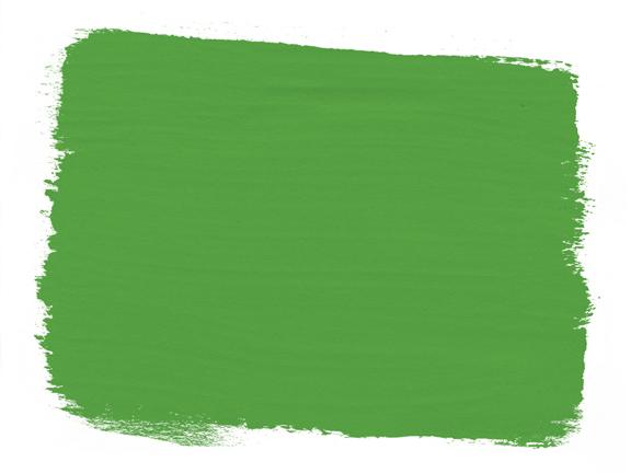 Farbmuster der Chalk Paint Antibes-Green Farbe von Annie Sloan
