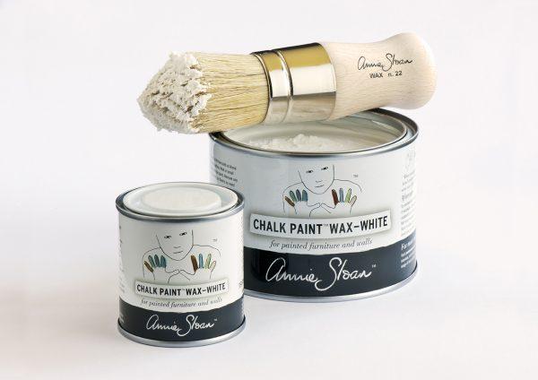 Annie Sloas Wax-White