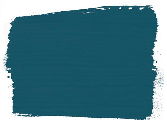 Aubusson Blue Chalk Paint von Annie Sloan auf der Farbkarte - ideal zur Planung Ihrer Gestaltungsprojekte