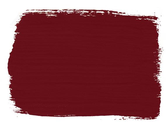 Burgundy Chalk Paint von Annie Sloan ist als Farbkarte erhältlich, sodass Sie Ihr nächstes kreatives Projekt vorbereiten können