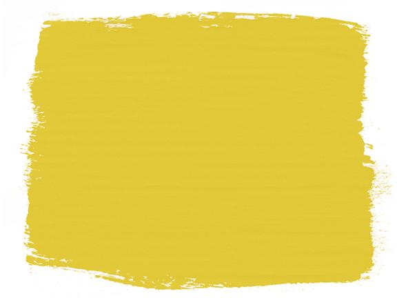 English Yellow Annie Sloan Kreidefarbe - Farbbeispiel