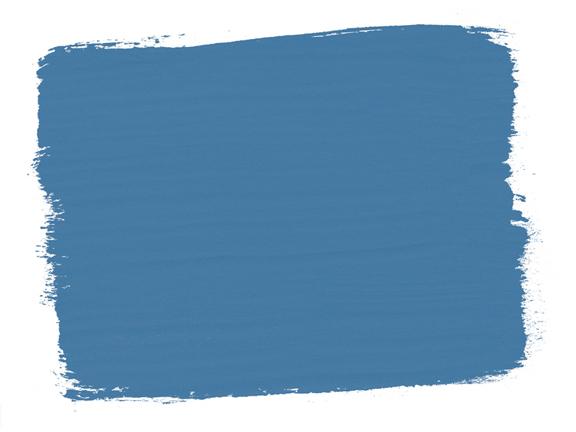 Die Farbkarte Greek Blue Chalk Paint zeigt den zeitlosen Blauton