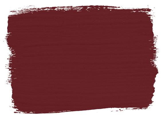 Primer Red Annie Sloan Kreidefarbe - Farbbeispiel