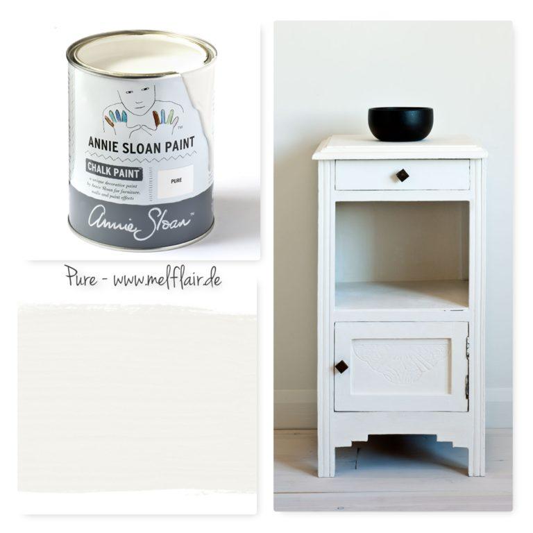 Pure Annie Sloan Kreidefarbe - Collage