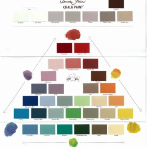 Chalk Paint Farbkarte / Colour Card – Annie Sloan