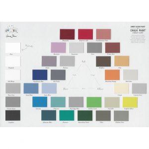 Chalk Paint Farbkarte / Colour Card – Annie Sloan