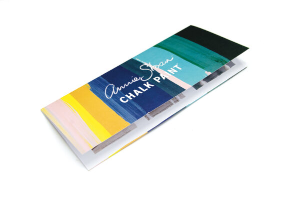 Annie Sloan Color Farbkarte Frontansicht