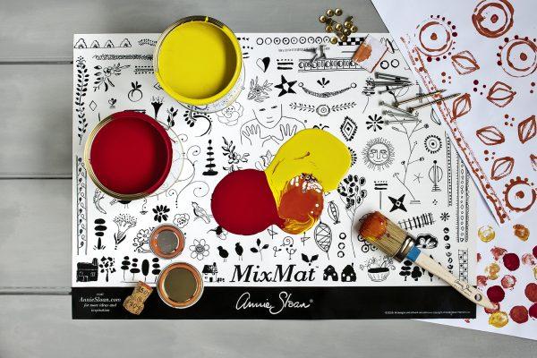 Annie Sloan MixMat zum Farben mischen