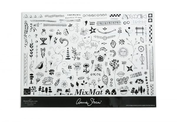 Annie Sloan MixMat Rückseite