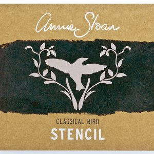 """A4 Schablone Annie Sloan """"Bird"""""""
