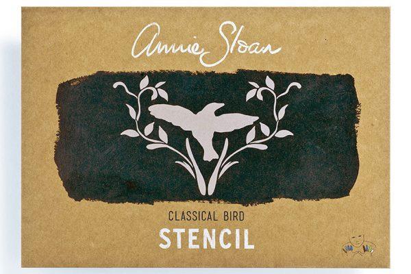 Annie Sloan Schablone Classical Bird