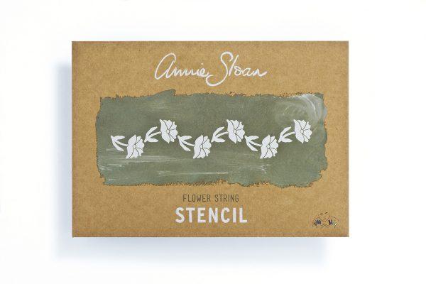 Annie Sloan Schablone Flower String