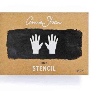 """A4 Schablone Annie Sloan """"Hands"""""""