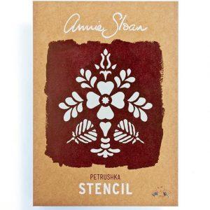 """A4 Schablone Annie Sloan """"Petruschka"""""""