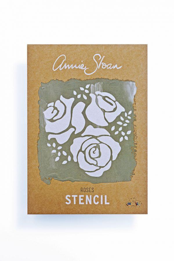 Annie Sloan Schablone Roses