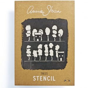 "A3 Schablone Annie Sloan ""Trees"""