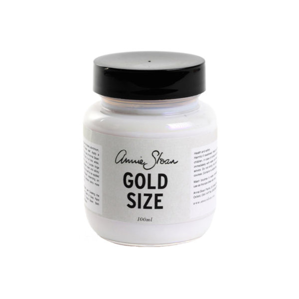 annie sloan gold size anlegemilch
