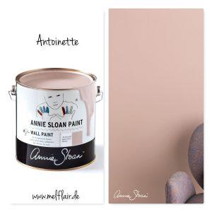 Antoinette – Annie Sloan Wandfarbe