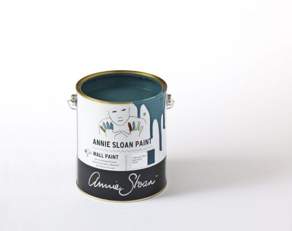 aubusson blue annie sloan wallpaint