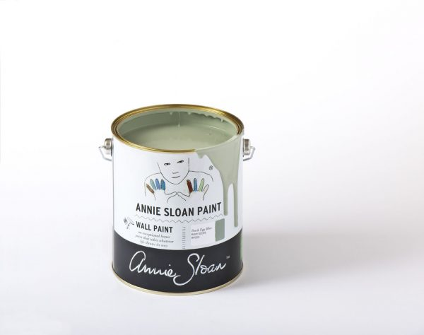 annie sloan duck egg blue wallpaint