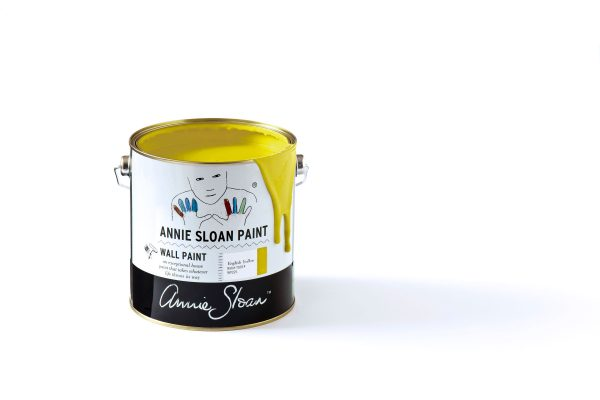 annie sloan english yellow wallpaint