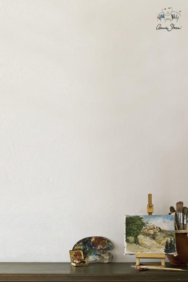 old white annie sloan wandfarbe anwendung