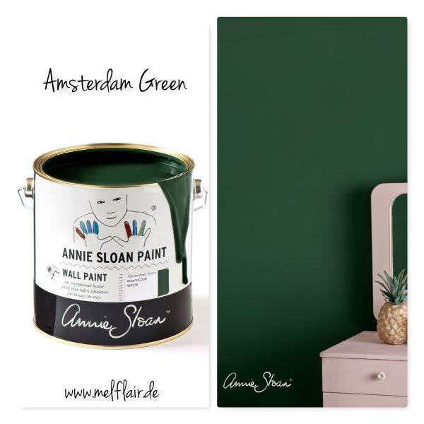 amsterdam green walllpaint annie sloan