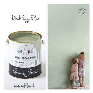 Duck Egg Blue – Annie Sloan Wandfarbe