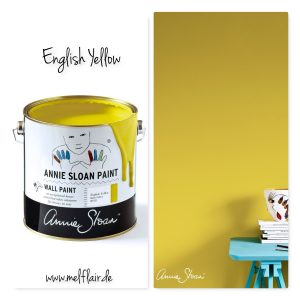 English Yellow – Annie Sloan Wandfarbe