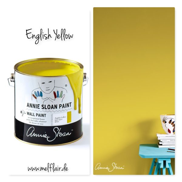 english yellow wallpaint annie sloan