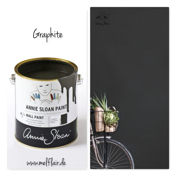 wallpaint graphite annie sloan