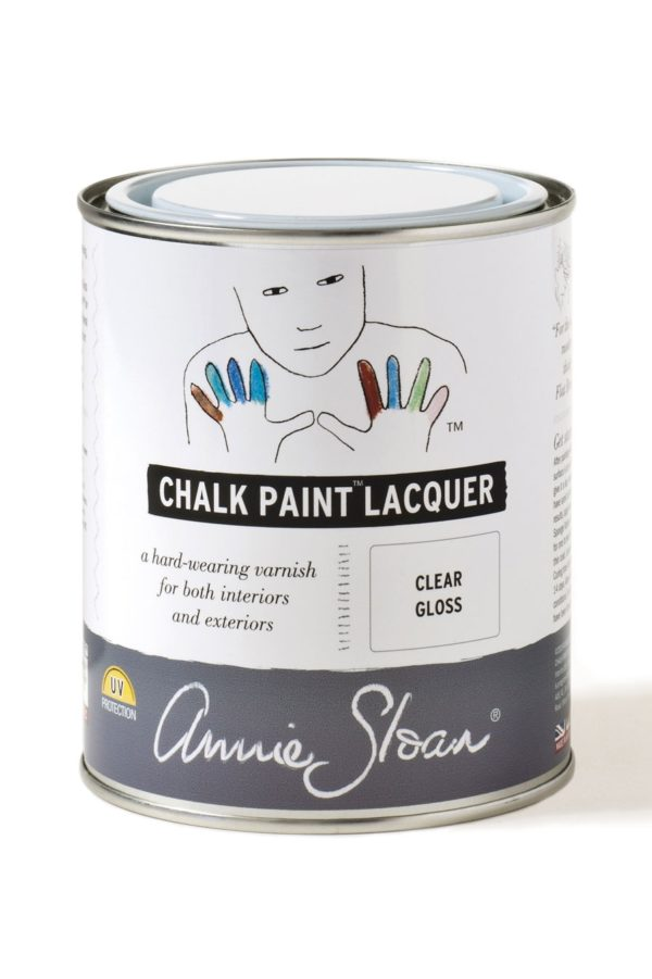 annie sloan chalk paint lacquer glänzend