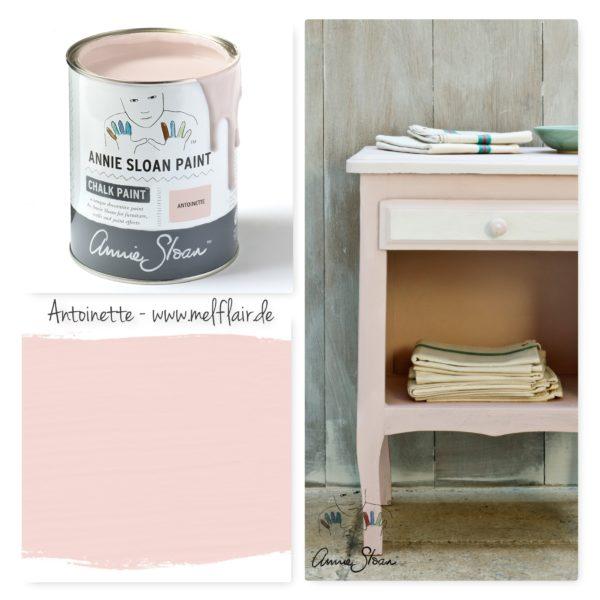 Antoinette Annie Sloan Kreidefarbe - Collage