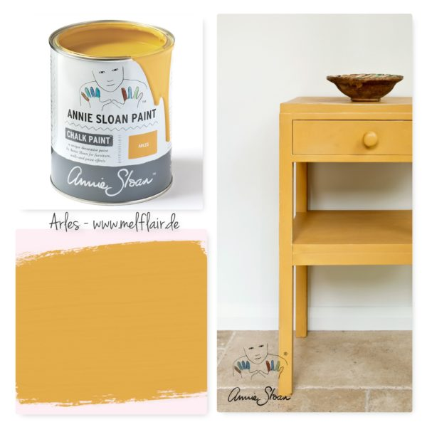 Arles Annie Sloan Kreidefarbe - Collage