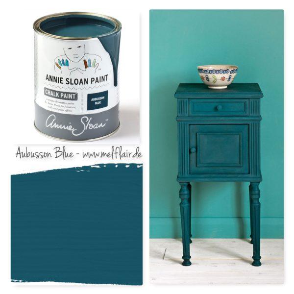 Aubusson Blue Annie Sloan Kreidefarbe - Collage