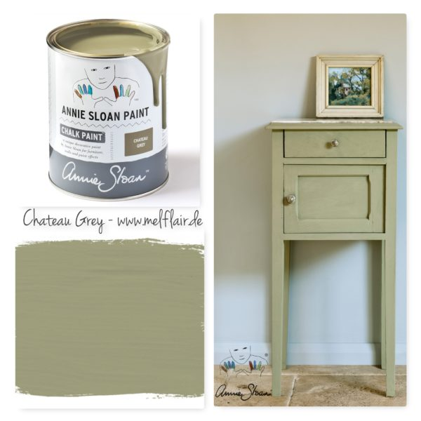 Chateau Grey Annie Sloan Kreidefarbe - Collage
