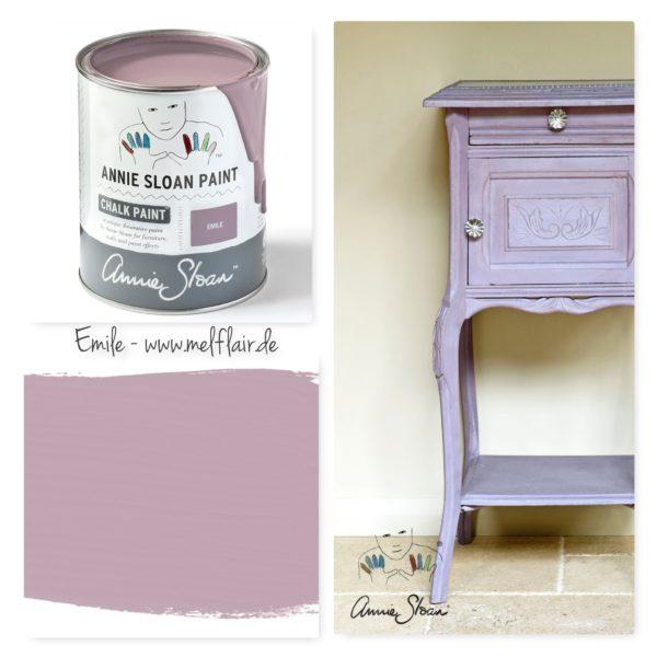 Emile Annie Sloan Kreidefarbe - Collage