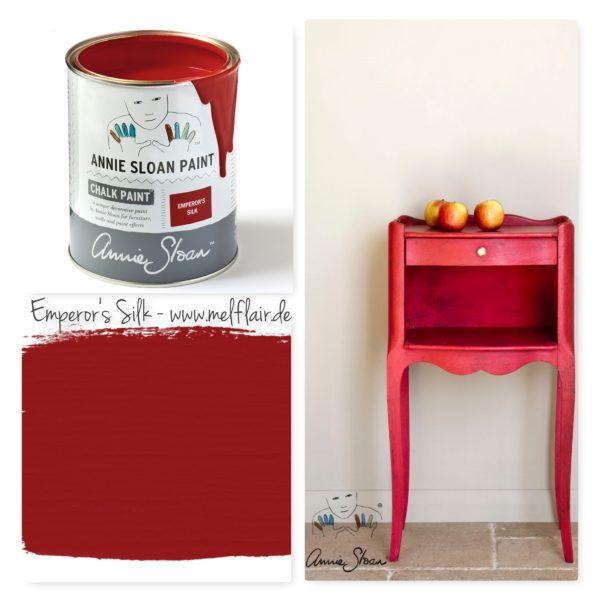 Emereors Silk Annie Sloan Kreidefarbe - Collage