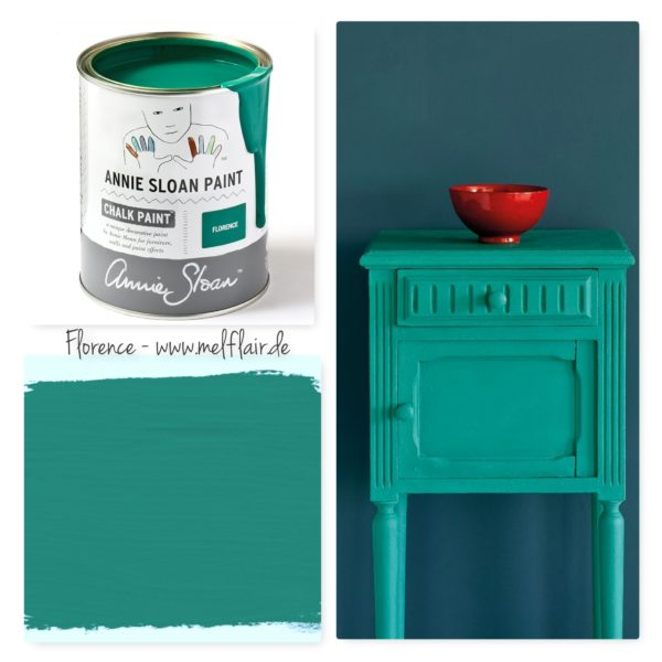 Florence Annie Sloan Kreidefarbe - Collage