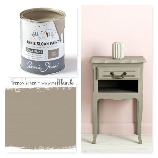 French Linen Annie Sloan Kreidefarbe - Collage