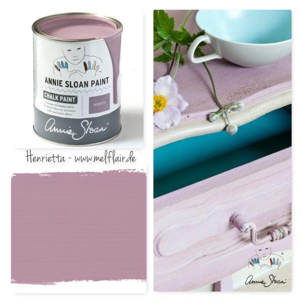 Henrietta Annie Sloan Kreidefarbe - Collage