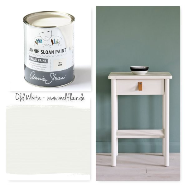 Old White Annie Sloan Kreidefarbe - Collage