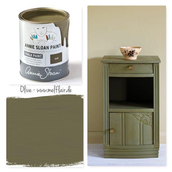 Olive Annie Sloan Kreidefarbe - Collage