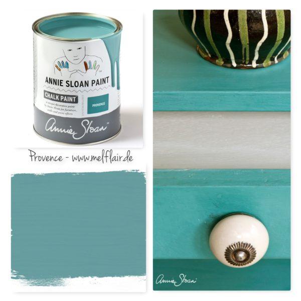 Provence Annie Sloan Kreidefarbe - Collage
