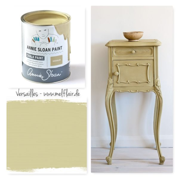 Versailles Annie Sloan Kreidefarbe - Collage