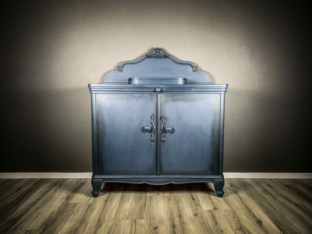 Kommode nachher -Möbel nachher - mit Kreidefarbe gestrichen