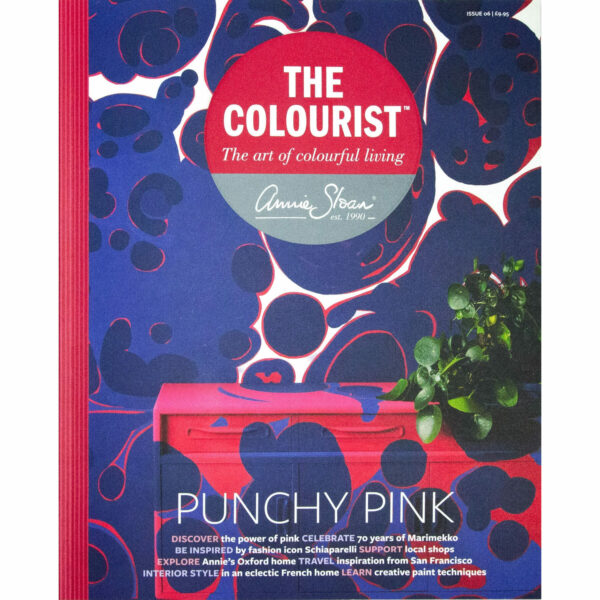 Frontansicht der Ausgabe 6 des Colourist von Annie Sloan